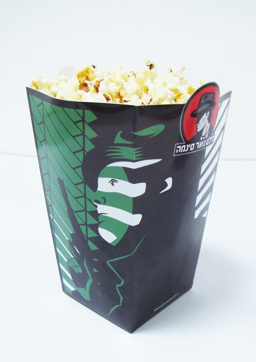 Film Noir Cinema - Popcorn cup
