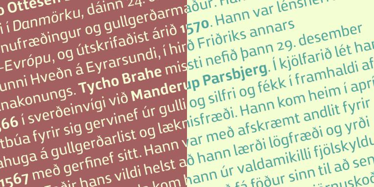 Zosimo typeface