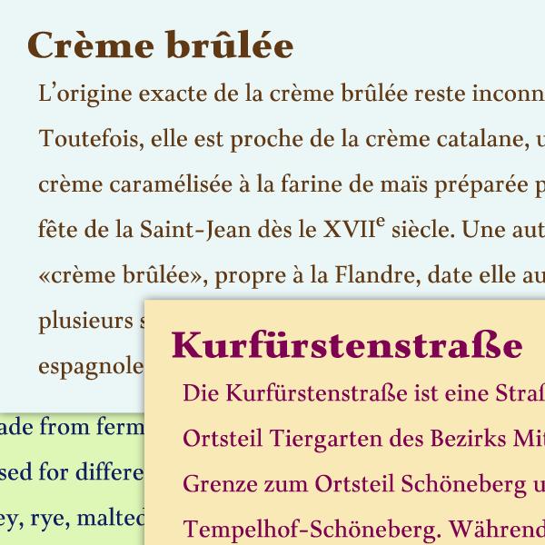 Nobilis Typeface