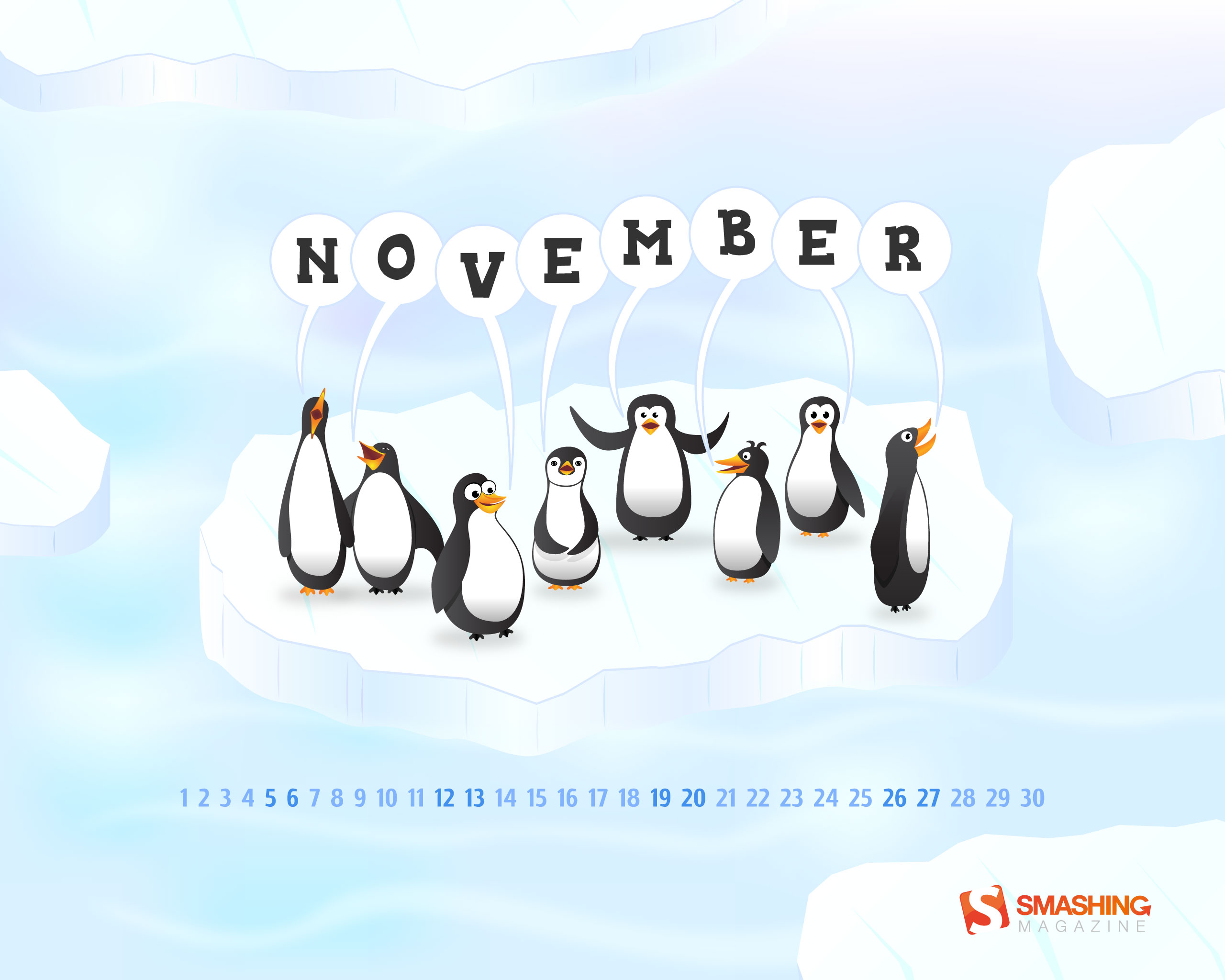 calendar wallpaper desktop penguin - photo #8