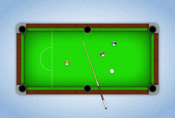 Pool table tutorial